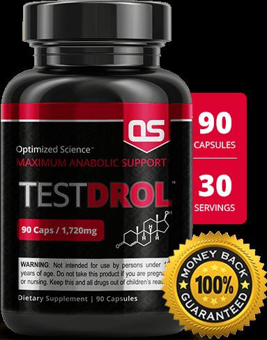 TestDrol bottle